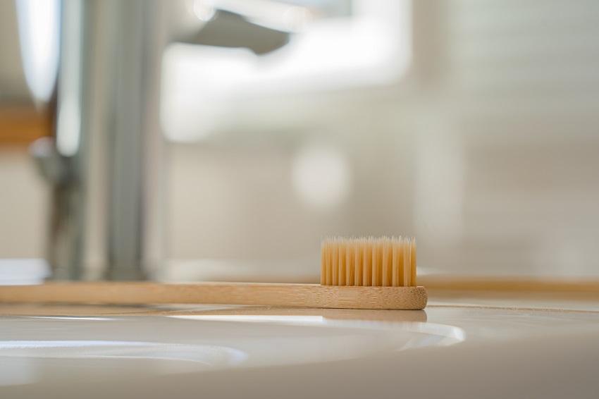 El cuidado del cepillo de dientes