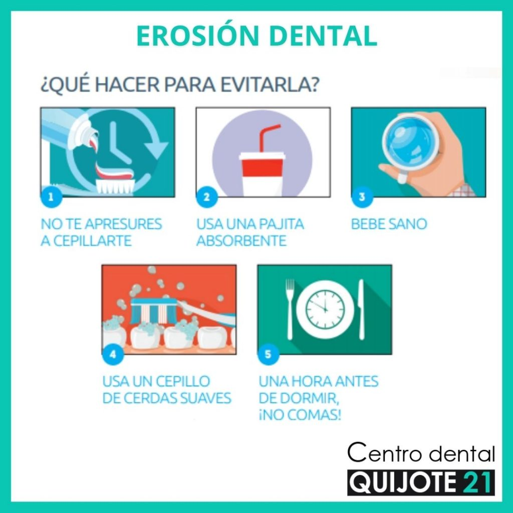 erosión dental